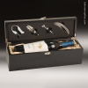 Click this Image to visit the    Black Leather Wine Boxes & Tool Sets category.