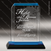 Click this Image to visit the    Blue Accented Acrylic Awards category.