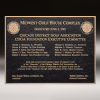 Click this Image to visit the  Bronze Finish Plaques category.