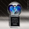 Click this Image to visit the Crystal Blanc Artistic Art Glass Trophy Awards category.