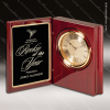 Click this Image to visit the Engraved Book Desk Clocks category.