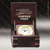Click this Image to visit the Engraved Box | Captain Desk Clocks category.