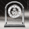 Click this Image to visit the  Engraved Crystal Finish Desk Clocks category.