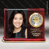 Click this Image to visit the Engraved Photo Holder Desk Clocks category.