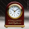 Click this Image to visit the  Engraved Rosewood Finish Desk Clocks category.