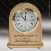 Click this Image to visit the  Engraved Wood Finish Desk Clocks category.