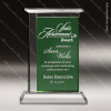 Click this Image to visit the    Green Accented Crystal Awards category.