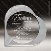 Click this Image to visit the Heart & Ribbon Shaped Acrylic Awards category.