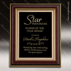 Click this Image to visit the    Mahogany Finish Award Plaques category.