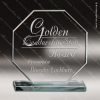Click this Image to visit the   Octogan Shaped Glass Awards category.