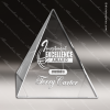 Click this Image to visit the  Pyramid Shaped Crystal Awards category.