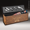Click this Image to visit the    Rustic Leather Wine Boxes & Tool Sets category.