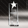 Click this Image to visit the    Silver & Chorme Accented Crystal Awards category.