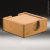 Click this Image to visit the Wood Square Edge Coaster Sets category.