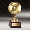Champion Metal Large Gold Brass Soccer Ball Trophy Award Ball Trophy Awards