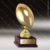 Champion Metal Large Gold Brass Fantasy Football Trophy Award Ball Trophy Awards