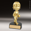 Resin Gold Bobble Head Series Basketball Trophy Award - Female Basketball Trophies