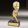 Resin Gold Bobble Head Series Basketball Trophy Award - Male Basketball Trophies