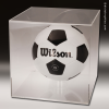 Display Case Acrylic Clear for Basketball or Soccer Ball Basketball Trophies