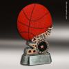 Resin Swirl Series Basketball Trophy Award Basketball Trophies