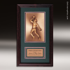 Corporate Framed Plaque Roman Edge Basketball Male Wall Placard Award Basketball Trophies