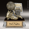 Resin Participation Theme Series Basketball Trophy Award Basketball Trophies