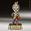 Resin Tyke Bobble Head Series Basketball Female Trophy Award Basketball Trophies