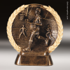 Resin High-Relief Series Mini Basketball Trophy Award - Male Basketball Trophies