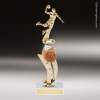 Trophy Builder - Basketball Riser - Example 2 Basketball Trophy Awards