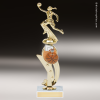 Trophy Builder - Basketball Riser - Example 1 Basketball Trophy Awards