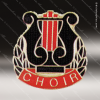 Lapel Pin - Music - Choir Lapel Pin Color Lapel Chenille Pins