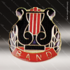 Lapel Pin - Music - Band Chenille Pin Color Lapel Chenille Pins