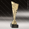 Cup Trophy Economy Gold Cone Gold Accented 2 Your Logo Holder Modern Cup Cone Cup Trophy Awards