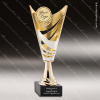 Cup Trophy Economy Gold Cone Silver Accented 2 Your Logo Holder Modern Cup Cone Cup Trophy Awards