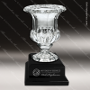 Crystal Cup Black Accented Royal Glass Bowl Trophy Award Crystal Cup Trophy Awards
