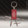 Laser Engraved Keychain Pocket Knife Multi-Tool 6 Function Red Gift Award Engraved Multi-Tool & Knifes