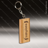 Laser Engraved Keychain 8GB USB Bamboo Rectangle Flash Thumb Drive Gift Awa Engraved USB Items