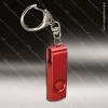 Laser Engraved Keychain 4GB USB Flash Thumb Drive Red Gift Award Engraved USB Items