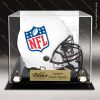 Engraved Clear Acrylic Football Helmet Display Case Football Display Case