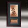 Corporate Framed Plaque Roman Edge Football Wall Placard Award Football Trophies