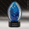 Jesselton Egg Glass Art Trophy Awards