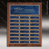 The Trusillo Walnut Perpetual Plaque  24 Blue Marble Plates Marble Plate Finish Perpetual Plaques
