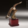 Premium Resin Hand Painted Color American Eagle Trophy Award Military Awards