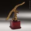 Premium Metallic Gold Series American Eagle Trophy Award Military Trophy Awards