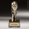 Resin Antique Bobble Head Series Baseball Female Trophy Award Resin Sculpture Trophies