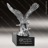 Premium Metallic Silver Series American Eagle Trophy Award Silver Eagle Sculpture Trophy Awards