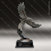 Stone American Eagle Flight Trophy Award Silver Eagle Sculpture Trophy Awards