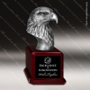 Premium Resin Silver American Eagle Trophy Award Silver Eagle Sculpture Trophy Awards