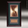 Corporate Framed Plaque Roman Edge Softball Wall Placard Award Softball Trophy Awards
