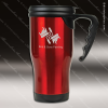 Engraved Stainless Steel 14 Oz. Travel Coffee Mug Red Laser Etched Gift Stainless 14 Oz. Travel Coffee Mugs